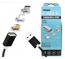 Magnetic Cable MicroUSB Charging & Syng DM-M15