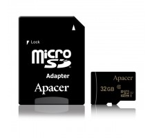 Apacer microSDHC 32GB UHS-I Class 10 + SD-adapter