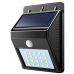Solar powered led wsll light UKC 609-20 Black