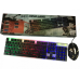 Комплект клавиатура и мышка UKC с LED подсветкой KEYBOARD Combo Gamer K 01